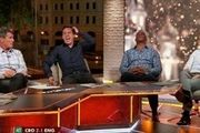 درگیری در برنامه تلویزیونی بعد از حذف انگلیس! /عکس
