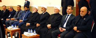 برگزاری مراسم گرامیداشت سردار سلیمانی و ابومهدی المهندس در دفتر عمار حکیم