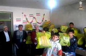 توزیع هدایای رهبری در بین دانشآموز روستاهای اسدآباد