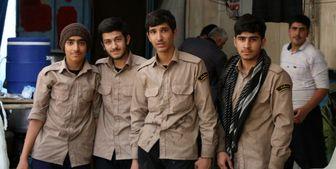 یک موکب خاص در کرمانشاه/ در این موکب به دانش آموزان مردمداری یاد میدهند