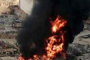 واکنش میشل عون و دادستان کل به آتشسوزی در بندر بیروت