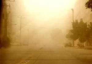 افزایش غبار 3 برابر حد مجاز در طوفانی با سرعت 80 کیلومتر