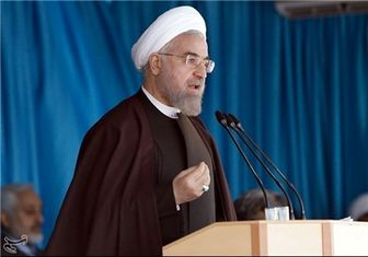 روحانی: در پای میز مذاکره از استقلالمان دفاع می کنیم