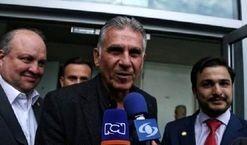 غافلگیری کیروش توسط یک ایرانی در کلمبیا