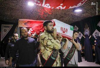 تشییع ۳ شهید گمنام در ستاد ناجا
