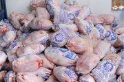 کشف مرغ تاریخ مصرف گذشته