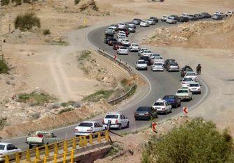 اعلام محدودیت ترافیکی در محور کندوان