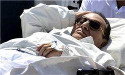 مبارک در میان تدابیر شدید امنیتی وارد زندان طره شد
