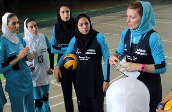 تمرینات تیم ملی والیبال بانوان لغو شد