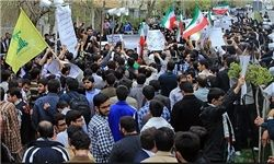 راهپیمایی دانشجویان امروز بعد از نماز جمعه