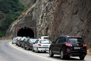 ترافیک سنگین محور کندوان و هراز