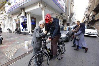 افزایش معابر دوچرخه در تهران
