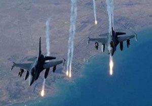 روسیه انبار مهمات داعش را هدف گرفت
