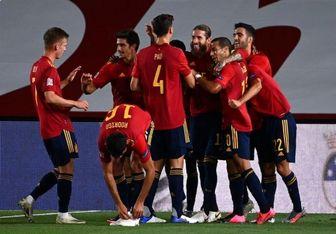 خلاصه بازی اسپانیا و سوئیس+فیلم