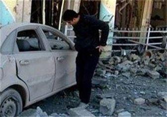 انفجار خودروی بمب گذاری شده در مسجد بغداد