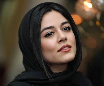 """عکس 2 نفره خانم و آقای بازیگر در """"چهارراه استانبول"""""""