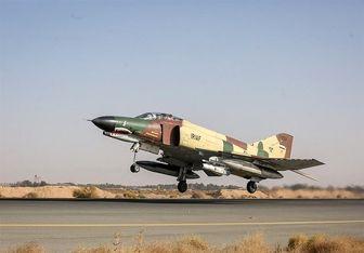 سقوط یک جنگنده نیروی هوایی در چابهار
