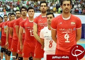 برنامه والیبالیست هاى ایران در انتخابى المپیک