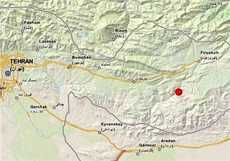 مرکزدقیق زلزله فیروزکوه مشخص شد + نقشه