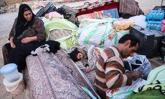 کانکسهای زلزلهزدگان سرپلذهابی واژگون شد