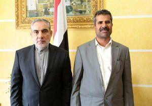 تاکید سفیر ایران و معاون وزیر برق یمن بر توسعه همکاری ها در حوزه انرژی
