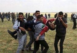 135 شهید در تظاهرات بازگشت در مرز نوار غزه