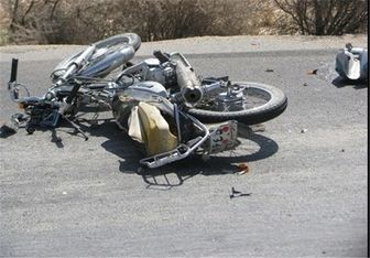 تصادف وحشتناک موتورسیکلت ها