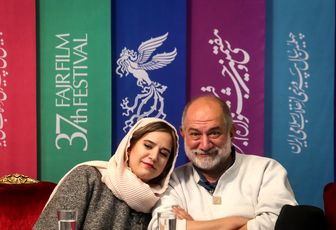 پدر و دختر مشهور سینمای ایران در یک قاب/ عکس
