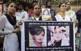 حضور آیشواریا در تشییع جنازه بازیگر مشهور بالیوودی/تصاویر