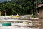 سیل در ژاپن و دهها کشته و مفقود