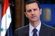 بشار اسد از تونلهای مرگ تروریستها در غوطه شرقی بازدید کرد+ عکس