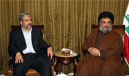 هیات حماس با سید حسن نصرالله دیدار کرد