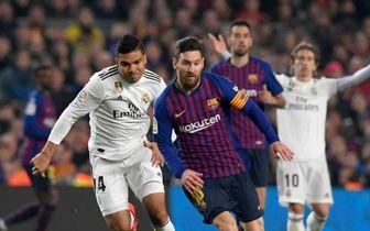 بارسلونا 1 - رئال مادرید 1 /تساوی در بندر تا دیدار برگشت در پایتخت