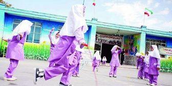 افتتاح ششمین دوره المپیاد ورزشی درون مدرسهای