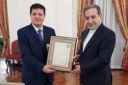 سفیر سوریه در تهران با عراقچی خداحافظی کرد
