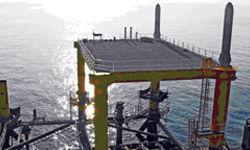 خط نشان تاسیسات دریایی برای وزارت نفت