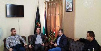 دیدار هیأتی از حزبالله با «جهاد اسلامی»