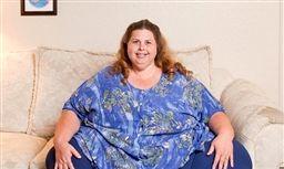 چاق ترین زن جهان ۲۰۰کیلو کم میکند + عکس