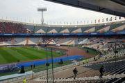 وضعیت عجیب و بد چمن استادیوم آزادی!