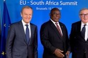 اتحادیه اروپا و آفریقای جنوبی در بیانیه مشترک، از برجام حمایت کردند