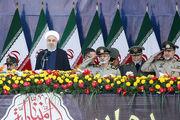 مراسم رژه نیروهای مسلح با حضور رئیس جمهور آغاز شد