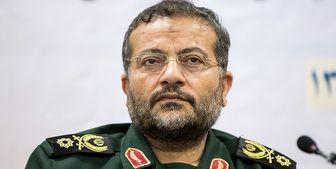 پیام تبریک روز ارتش به امیر موسوی از سوی رئیس سازمان بسیج