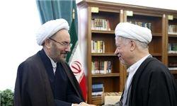 دیدار یونسی با رئیس مجمع تشخیص مصلحت نظام