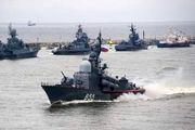 رزمایش بزرگ دریایی روسیه