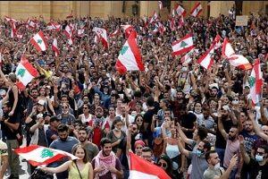 ادامه درگیری میان معترضان و پلیس در لبنان چند زخمی برجای گذاشت