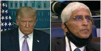 سوال خبرنگار کاخ سفید ترامپ را متحیر کرد!+فیلم