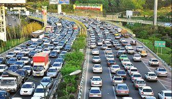 آخرین وضعیت ترافیکی معابر شهر تهران