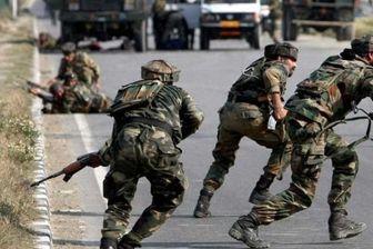 یک کشته و ۹ زخمی در درگیری های کشمیر