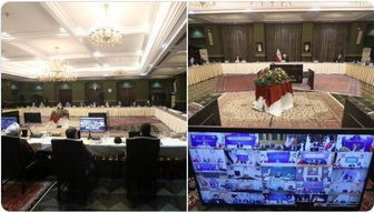 برگزاری ستاد ملی مدیریت کرونا به ریاست روحانی