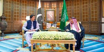 نخستوزیر پاکستان با پادشاه سعودی دیدار کرد